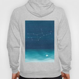 Virgo zodiac constellation Hoody