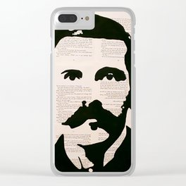 Doc Holliday Clear iPhone Case