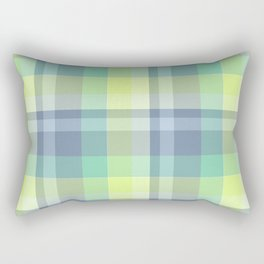 Summer Plaid 4 Rectangular Pillow
