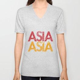 Asia for Asia Unisex V-Neck