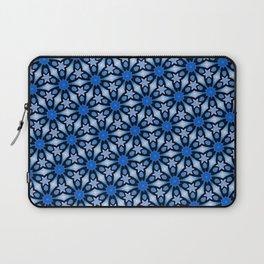 Blue stars of celebration Laptop Sleeve