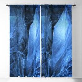 Feather Blue Blackout Curtain
