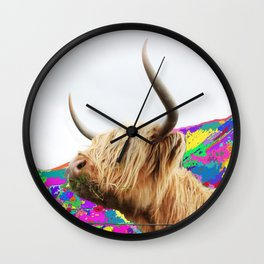 Highland Blondie Wall Clock