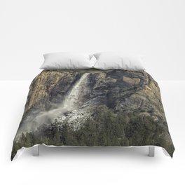 Bridalveil Fall Comforters