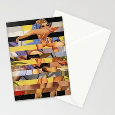 Glitch Pin-Up Redux: Courtney Stationery Cards