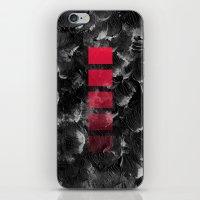 decal iPhone & iPod Skins featuring black ocean by LEEMO