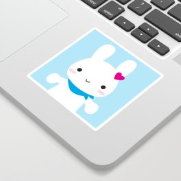 Super Cute Kawaii Bunny Sticker