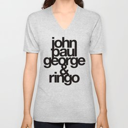 The Fab Four Unisex V-Neck