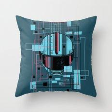 Reticent. Throw Pillow
