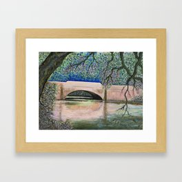 Biltmore Bridge Framed Art Print
