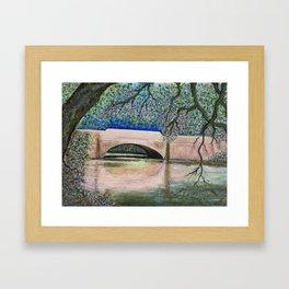 Biltmore Bridge Framed Art Print