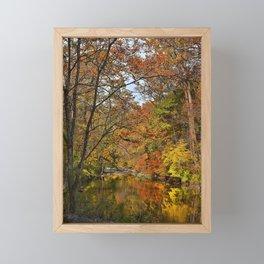 A Portrait of Fall Framed Mini Art Print