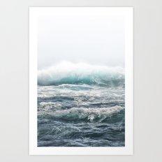 BIG SPLASH HAWAII Art Print