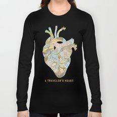 A Traveler's Heart Long Sleeve T-shirt