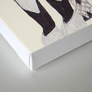 KISS Canvas Print