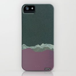 SURFACE #4 // CASTLE iPhone Case