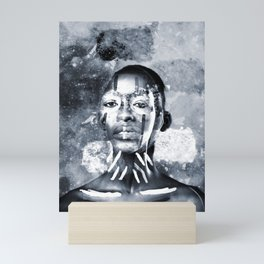 slipping Mini Art Print