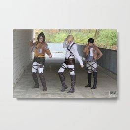 20151024 EruRiHan, Dance! Metal Print