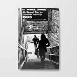 49th Street Station Metal Print