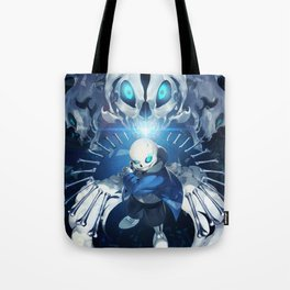 Undertale Sans Poster  - Do you wanna have a bad time? Tote Bag