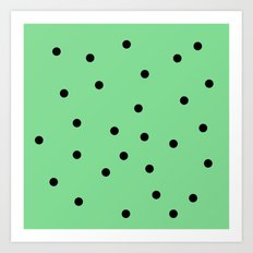 Mint Chip Art Print