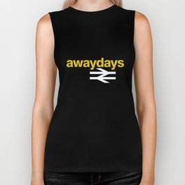Away Days Mens Football Casuals Football T-Shirts Biker Tank