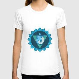 Vushuddha Throat Blue Chakra T-shirt