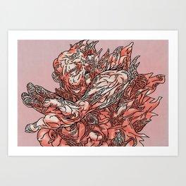 TETSUO03 Art Print
