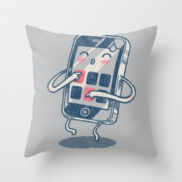 iTouch mySelf Throw Pillow