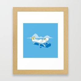 yeti's instagram Framed Art Print