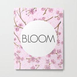 Purple Florals - Bloom Metal Print
