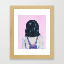 Backwards Framed Art Print