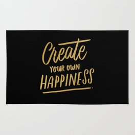 Create Your Own Happiness Rug