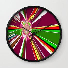 A burst of hope Wall Clock