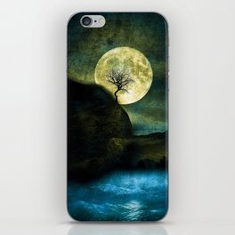 The Moon and the Tree. iPhone Skin