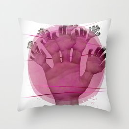Elementum Throw Pillow