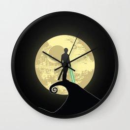 Luke's Nightmare Before Wall Clock