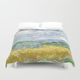 Vincent van Gogh - Wheat Field With Cypresses Duvet Cover