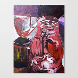 A Series of Wedding Dancer Still-Life Paintings 4. Canvas Print