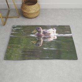 Duck in Beck Kiwanis Park Rug