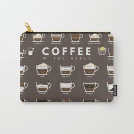 Coffee Chart Carry-All Pouch