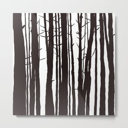 The Trees and The Forest Metal Print