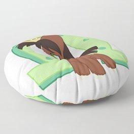 Chibi Trouble Shoes Floor Pillow
