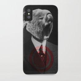 Koala Yawn iPhone Case