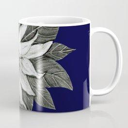 Florida Flower Navy Blue Background Coffee Mug