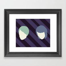 Tegan and Sarah Framed Art Print