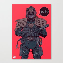 Your choice creep! Canvas Print