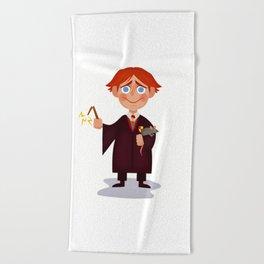 Ron Weasley Beach Towel