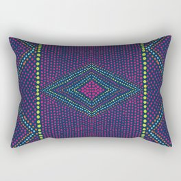 Kaleidoscope Eyes Rectangular Pillow