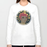astronaut Long Sleeve T-shirts featuring Astronaut by Edge